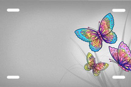 LP00567-Grey Butterflies