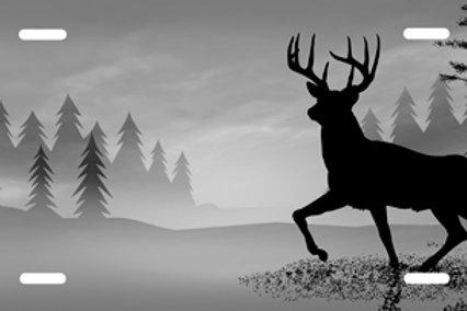 LP0038-Deer on Grey