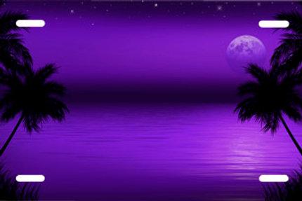LP00293-Dark Purple Beach