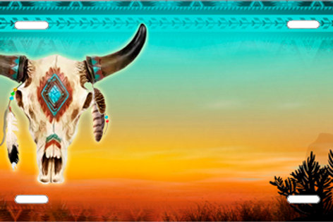 LP1014-Cow Skull