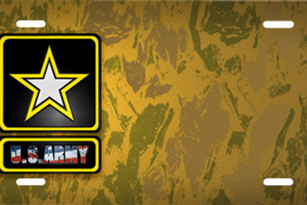 LP00705-Army Logo on Brown