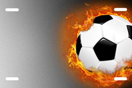LP00838-Soccer Ball Flames