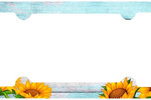 F105-Sunflower Wood Frame
