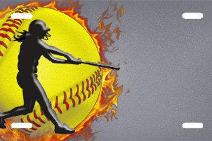 LP00712-Softball on Grey