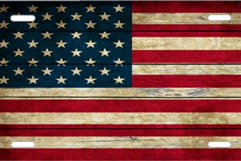 LP1015-Wooden Flag