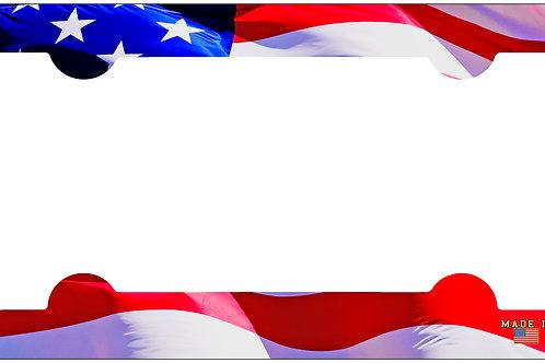 F101-American Flag Frame