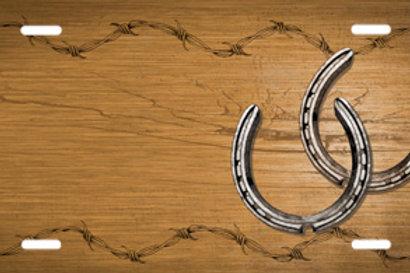 LP00804-Horseshoes on Tan