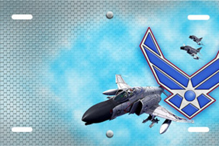 LP00709-Air Force Logo with Jet