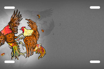 LP00477-Roosters Fighting