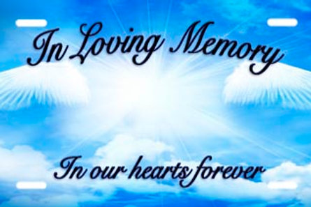 LP00836-Loving Memory on Blue