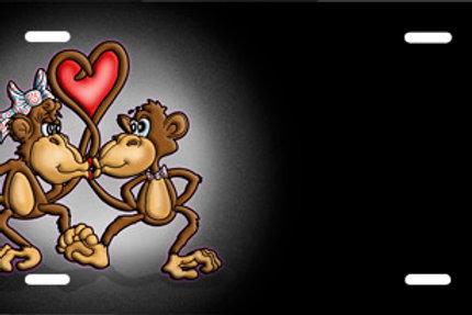 LP00551-Monkey Love Black