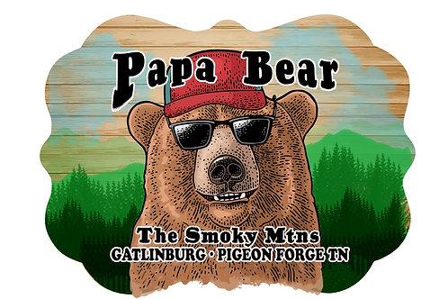 RMC108-Papa Bear Head