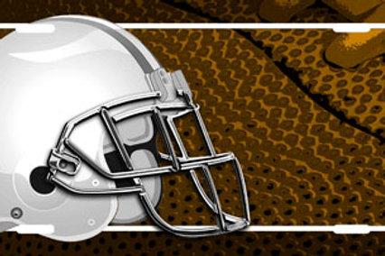 LP00871-Football Helmet on Football