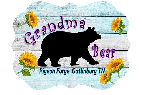 RMC107-Grandma Bear