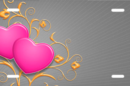 LP00693-Grey Heart Swirls