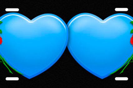 LP00452-Blue Hearts Roses