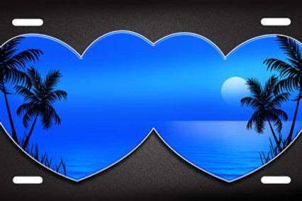 LP00150-Blue Hearts Beach