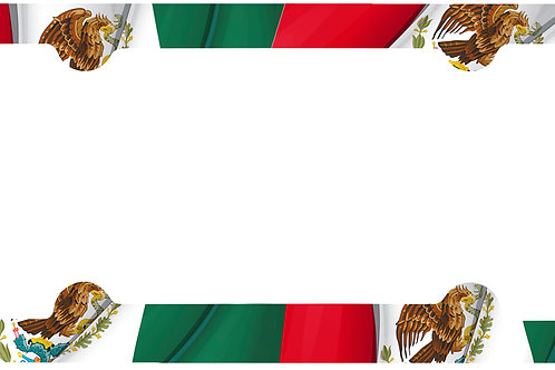 F125-Mexican Flag Full Frame