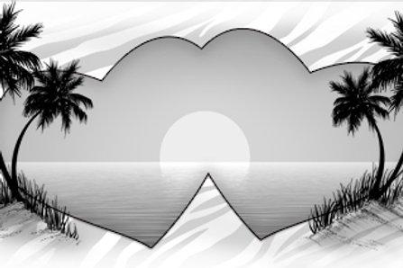 LP00298-Grey Beach Hearts