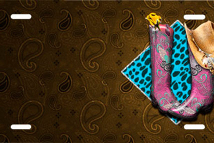 LP00795-Cowgirl Boots