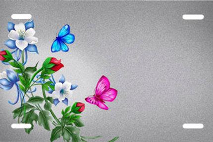 LP00645-Butterflies Flowers