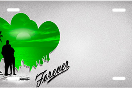 LP00910-Green Forever Hearts