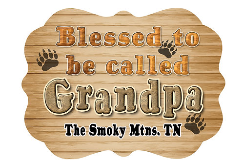 RMC111-Blessed to be called Grandpa