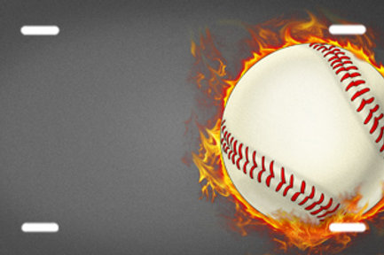 LP00489-Flaming Baseball