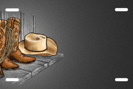 LP00413-Boots and Hat