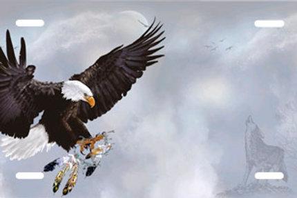 LP00617-Eagle with Dreamcatcher