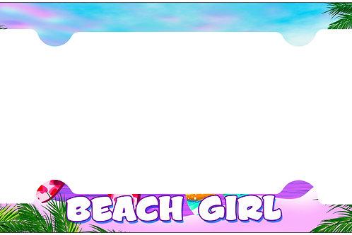 F107-Beach Girl Frame