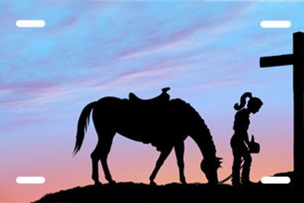 LP00537-Cowgirl Praying