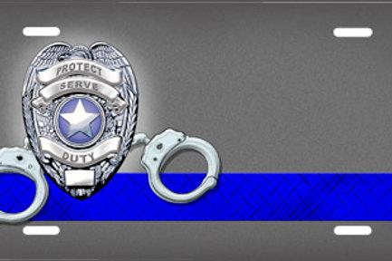 LP00666-Police Badge