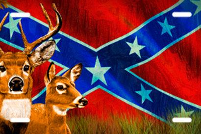 LP00811-Deer Rebel Flag