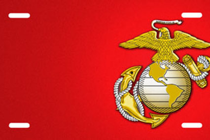 LP00830-Marine on Red