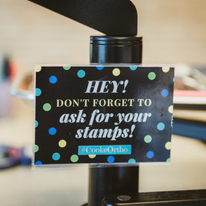 Stamp Cards and Fun Rewards at Cooke Ortho