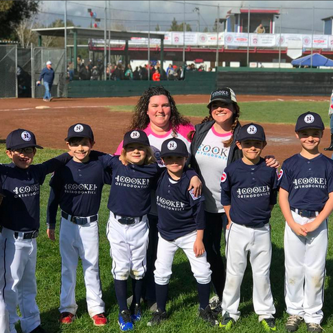 Cooke Orthodontics Little League Team, Napa, CA