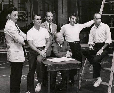 West Side Story Rehersal foe stage produ