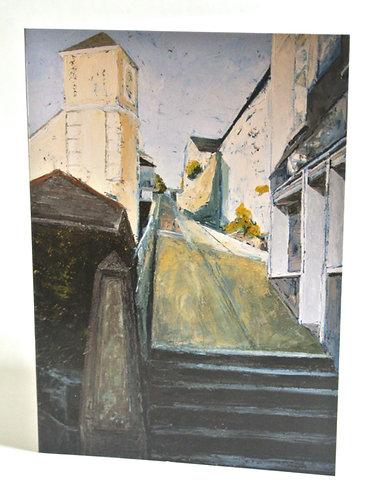 'Webber Hill' card