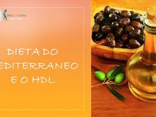 DIETA DO MEDITERRÂNEO E HDL, existe alguma relação entre eles?