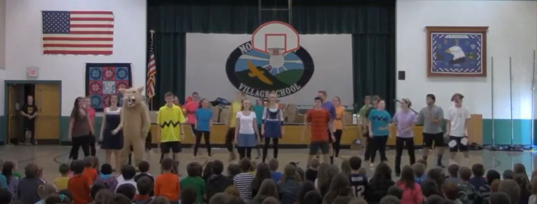 Watch this video of the Operation Pumpkin Dance in 2014!