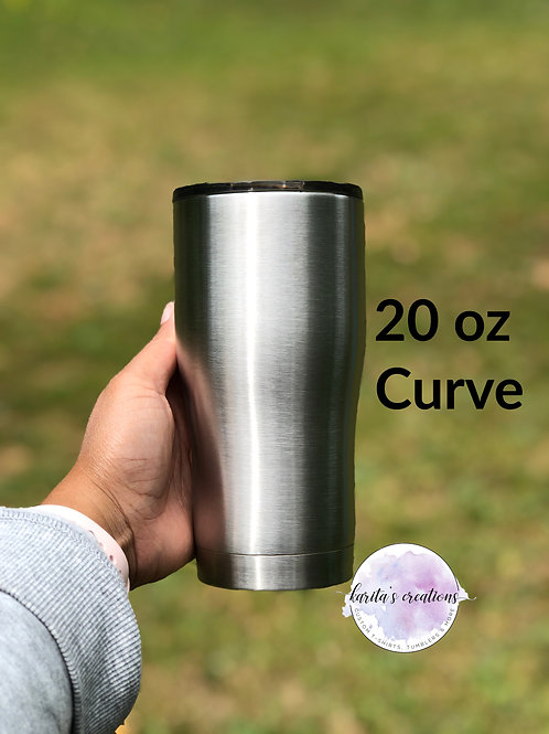 Custom 20oz Curve Tumbler