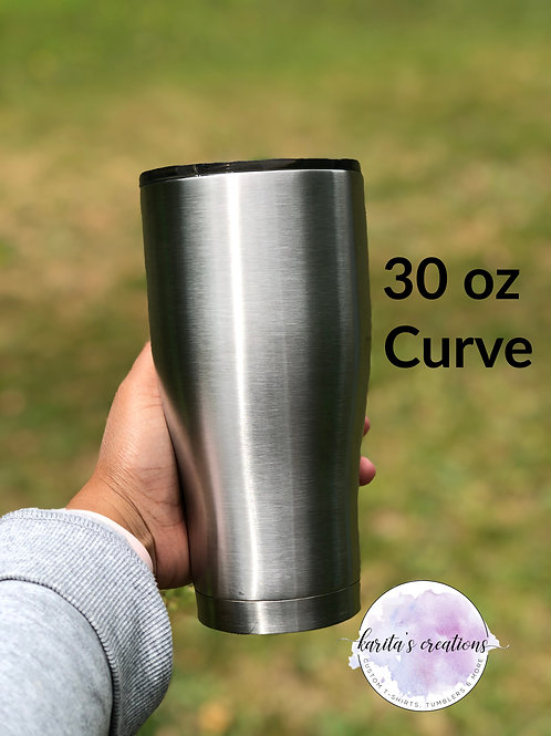 Custom 30oz Curve Tumbler