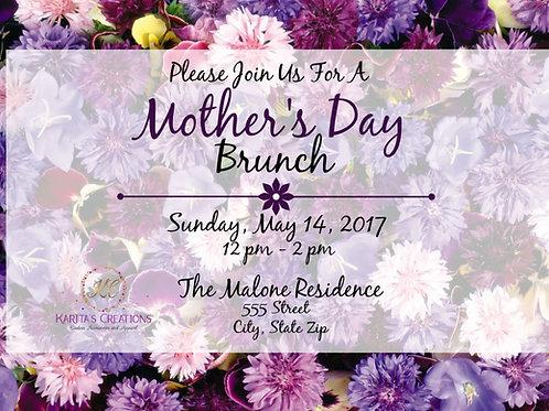 Mother's Day DIGITAL Invite