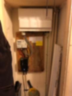 Fusebox In cupboard
