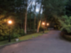 Driveway Post Lights Front