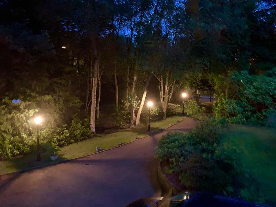Driveway Post Lights