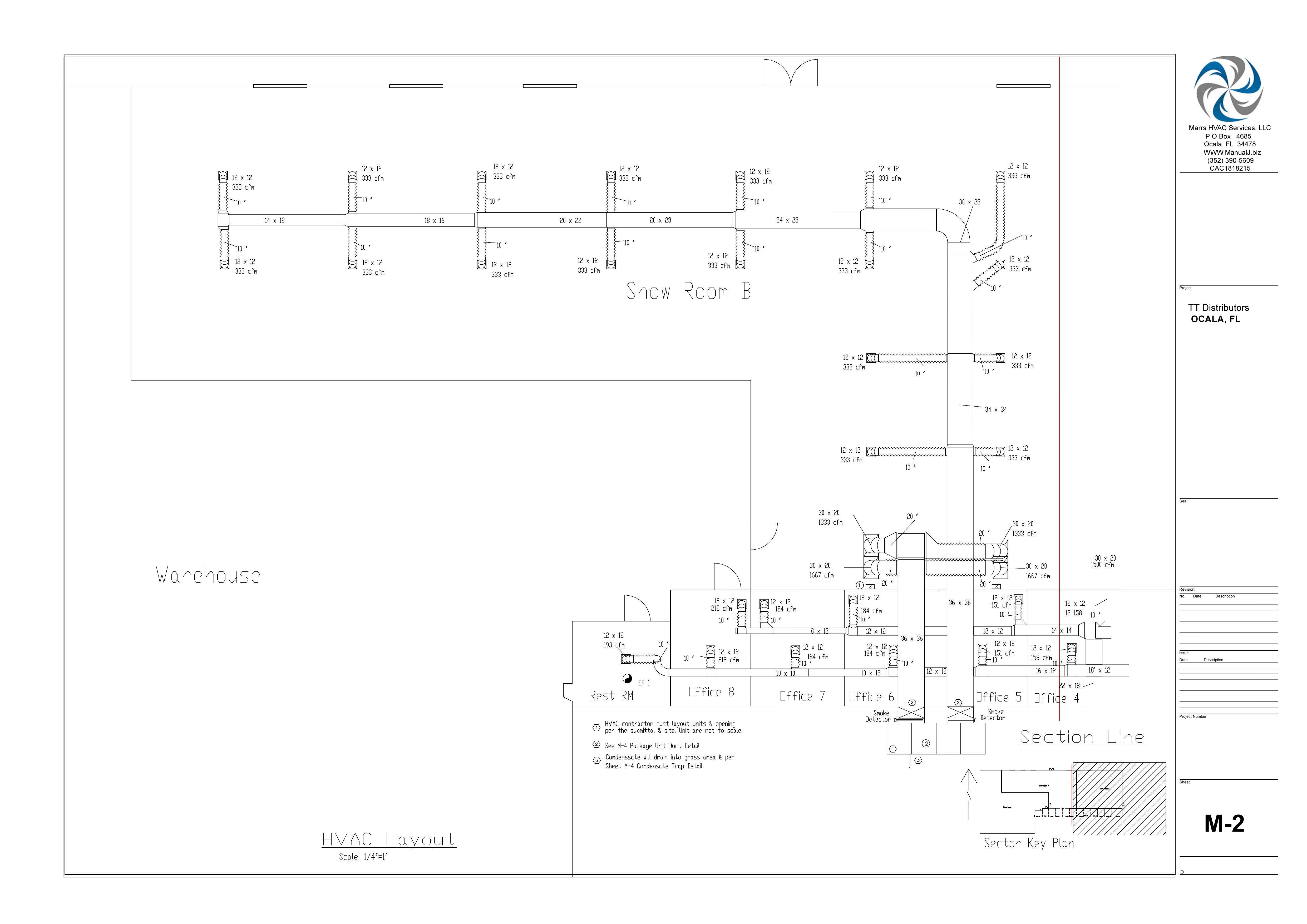 M-2 HVAC Layout