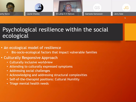 "Social Determinants of Mental ""Ill Health"": Addressing the Needs of Refugee Families During Covid19"