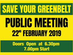Public Meeting - Fri 22nd February 2019.